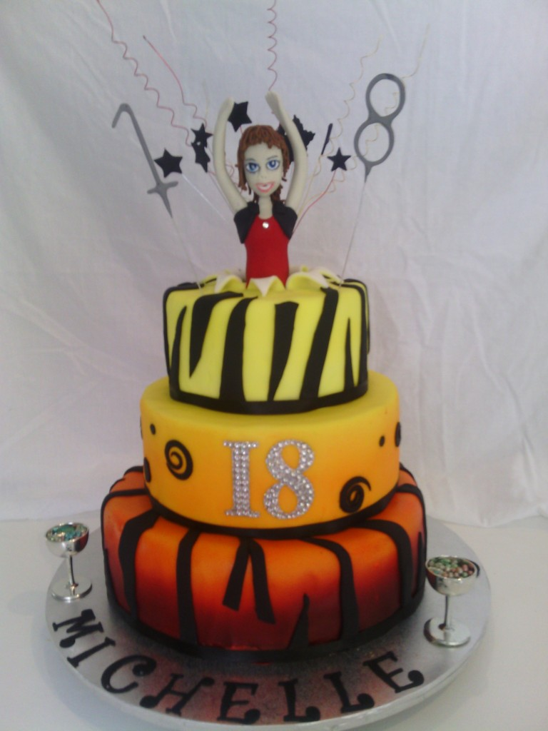 Cake decorating for Art cake decoration